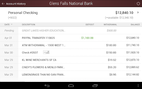 Glens Falls National Bank screenshot 11