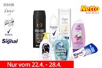 Angebot für 3 x Pflegeprodukte - netto MD im Supermarkt