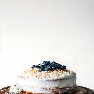 Vegan Coconut Cake.
