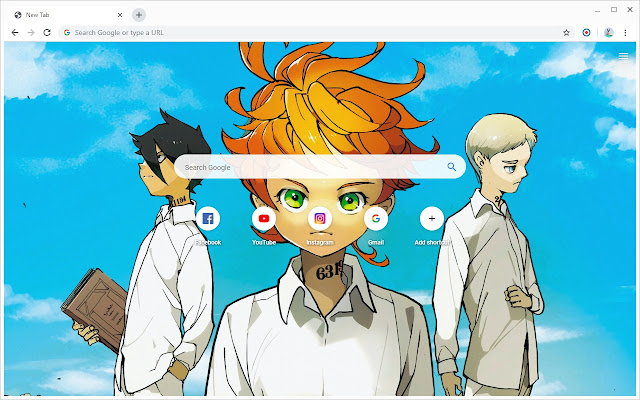 New Tab - The Promised Neverland