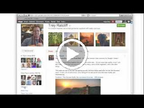 Video: Video for Google+ Beginners, explaining profiles and how to customize and use them. About 6 minutes long.