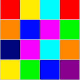 Цветная головоломка 2048