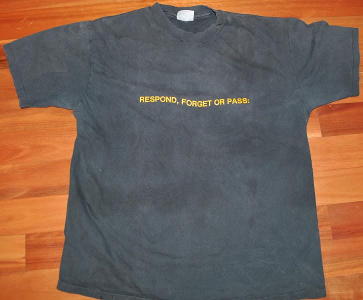 Photo: Meet:Students T-shirt, front, c. 1985