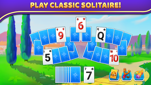 Puzzle Solitaire - Tripeaks Escape with Friends 12.0.0 screenshots 1