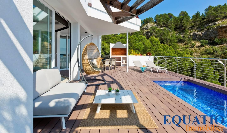 Appartement avec terrasse et piscine Altea