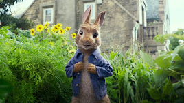 La película infantil \'Peter Rabbit\'.