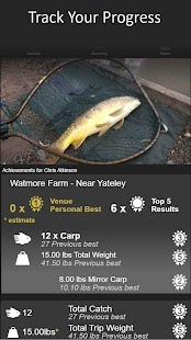 Finygo Social Fishing Diary With Weather- screenshot thumbnail