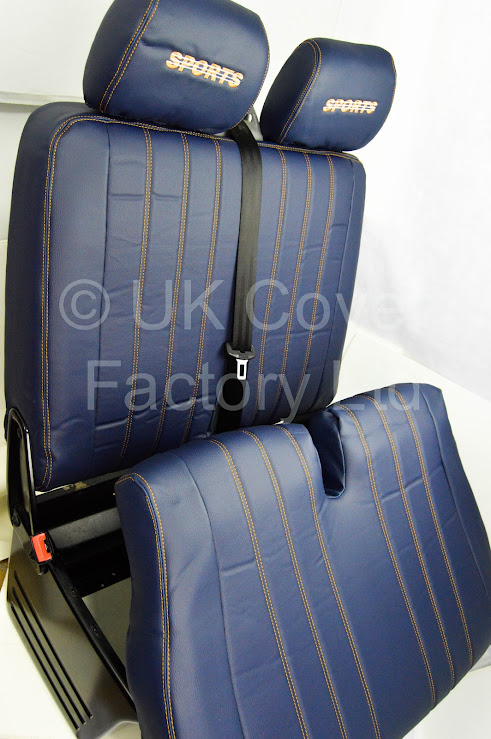 Ford Transit Mk6 Mk7 Van Seat Cover Perfect Fit Quilted