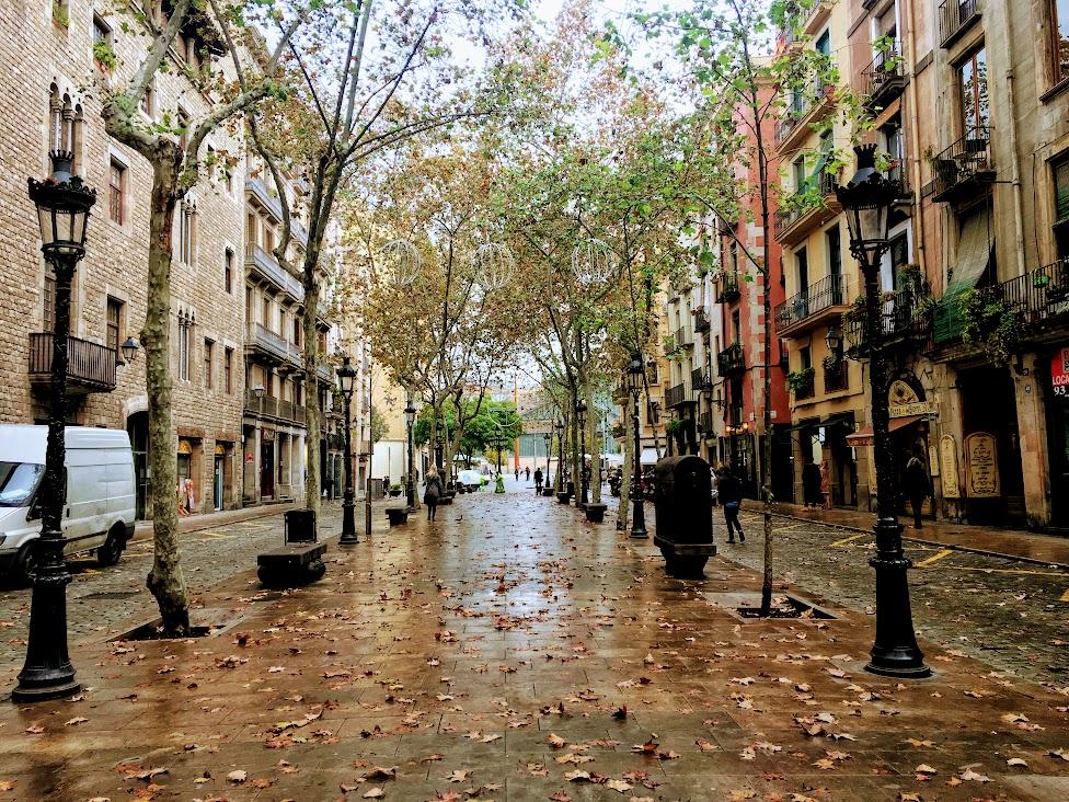 Passeig del Born w Barcelonie