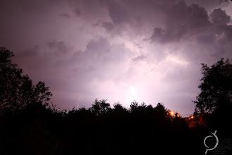 Photo: Lightning in summer 2011 in eastern Belgium.