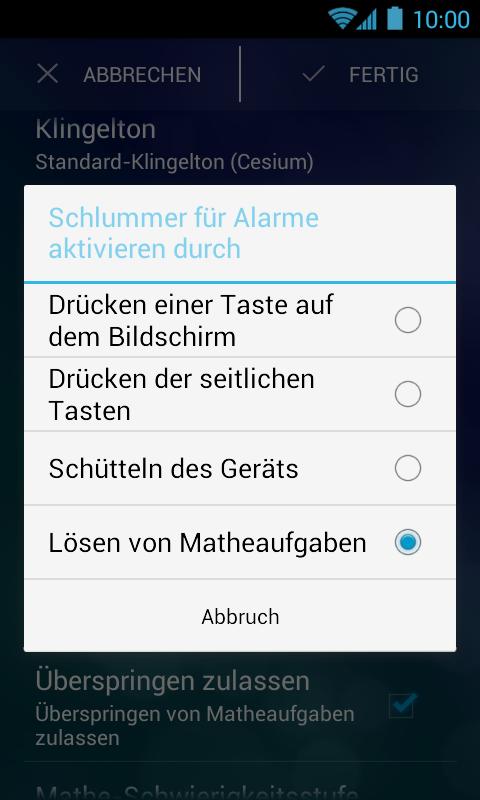 Wecker App Mit Eigener Musik