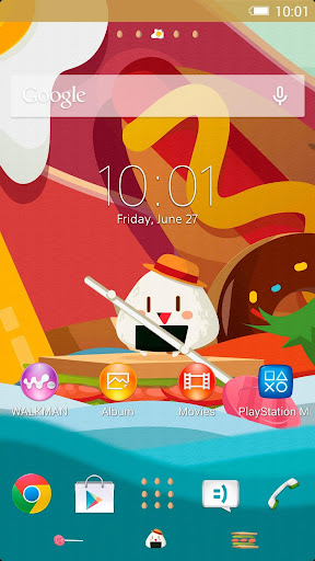 XPERIA™ Foody Theme