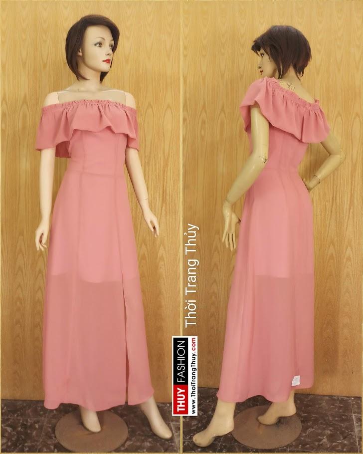 Váy maxi dáng dài mặc đi tiệc đi biển V686 thời trang thuỷ đà nẵng