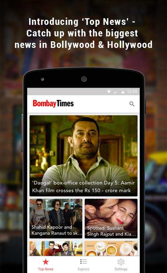 Bombay Times - Bollywood News- screenshot