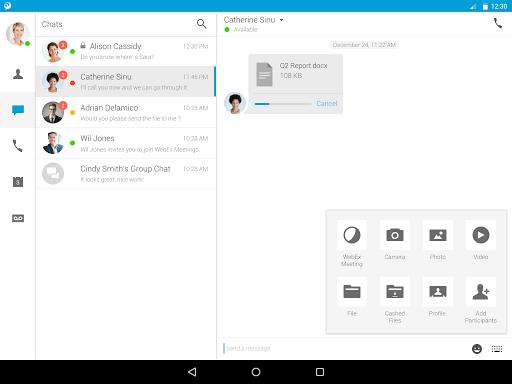 Cisco Jabber screenshot 10