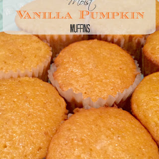 Vanilla Pudding Pumpkin Muffins