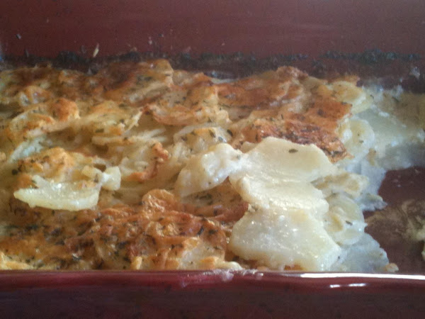 Asiago & Gruyere Potato Gratin Recipe