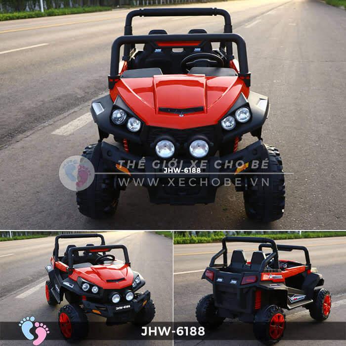 Xe ô tô điện cho bé 4 động cơ JHW-6188 5