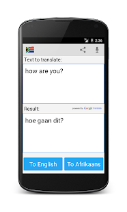 Afrikaans English Translator 2