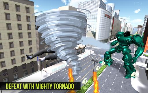 Robot Futuristic Tornado:Robot Transformation 2020 android2mod screenshots 1