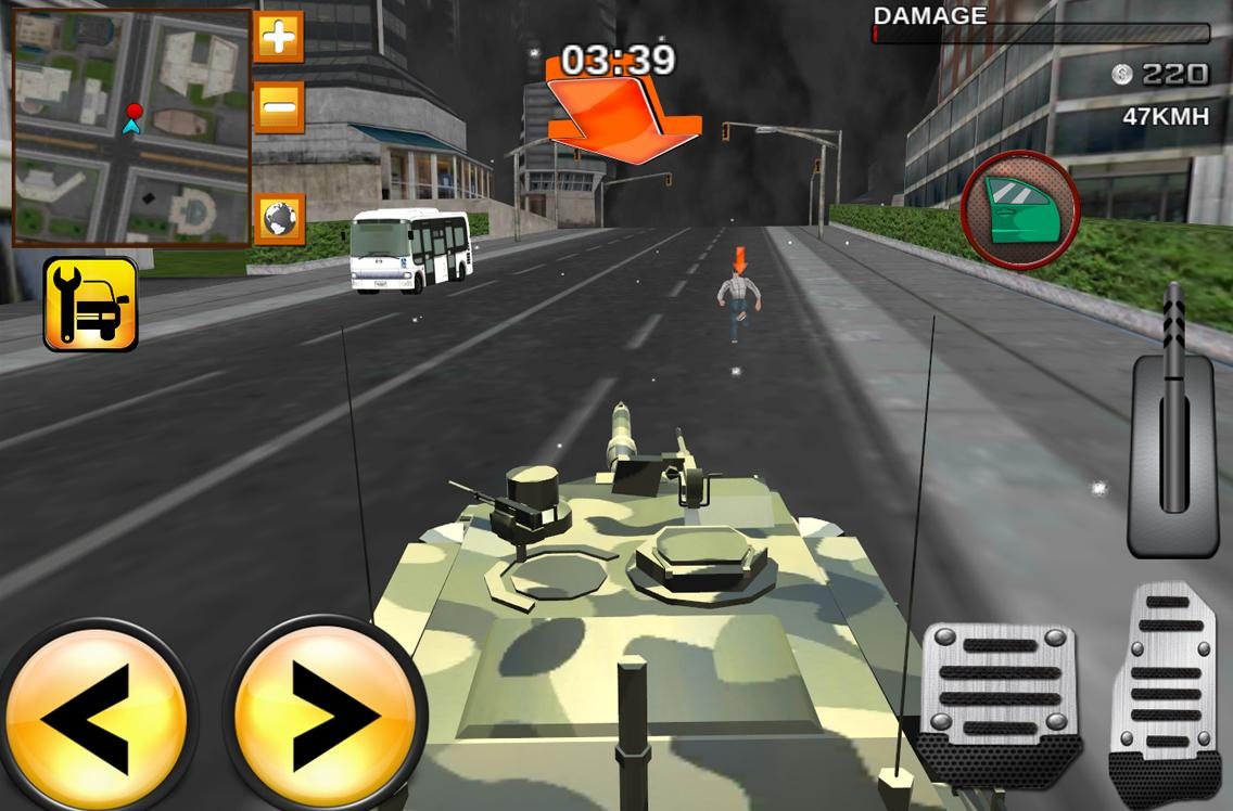 Army Extreme Car Driving 3D- screenshot