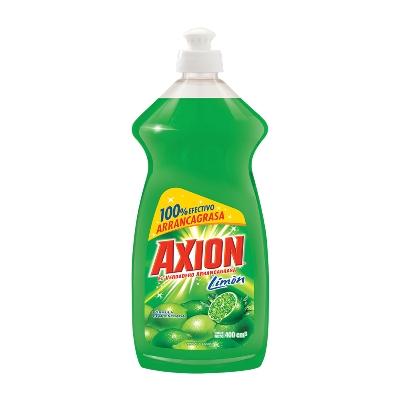 lavaplatos liquido axion limon 400ml