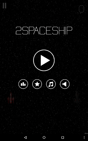 android Two space ship Screenshot 8