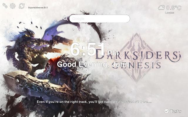 Darksiders Genesis Wallpaper 2019