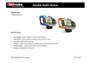 Photo: Health Key-1(3D Digital Pedomete)