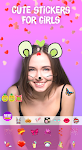 screenshot of Cat Face - Sticker photo editor & Selfie stickers