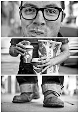 Photo: Triptychs of Strangers #19, The Sunday Faced Cupholder > Full story: http://goo.gl/234Ce