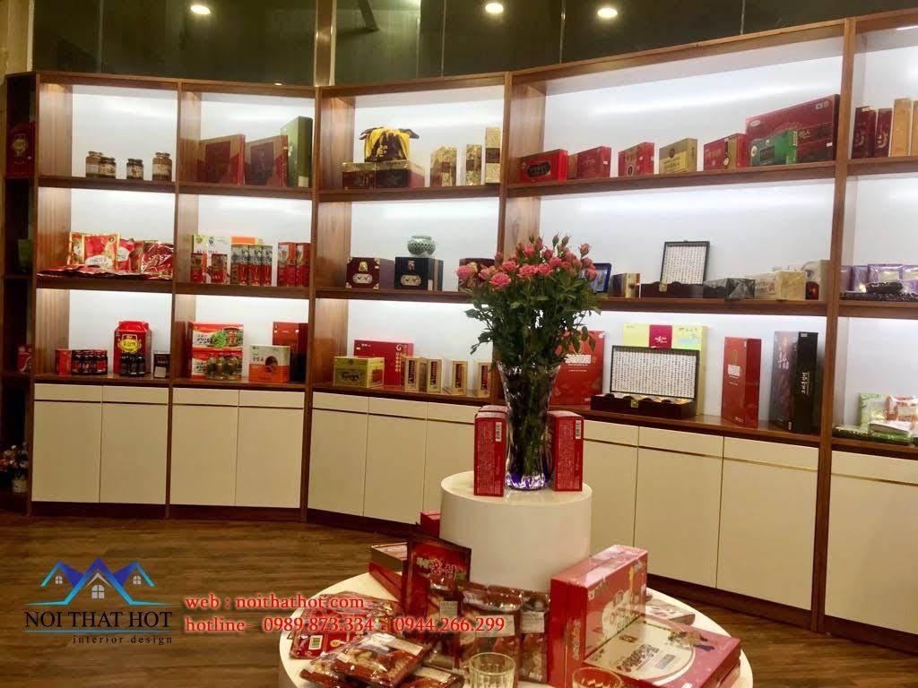 Thiết kế cửa hàng sâm Ginsenplaza.com 8