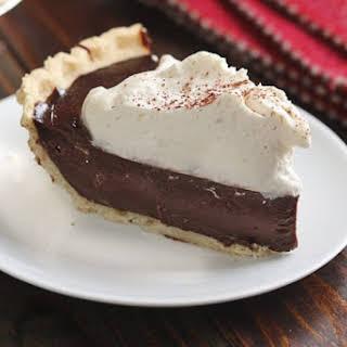 Chocolate Mocha Cream Pie.
