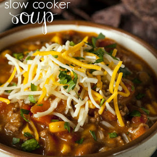 Quick & Easy - Slow Cooker 7 Can Soup Recipe!.