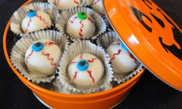 Halloween Spooky Eyeballs Recipe