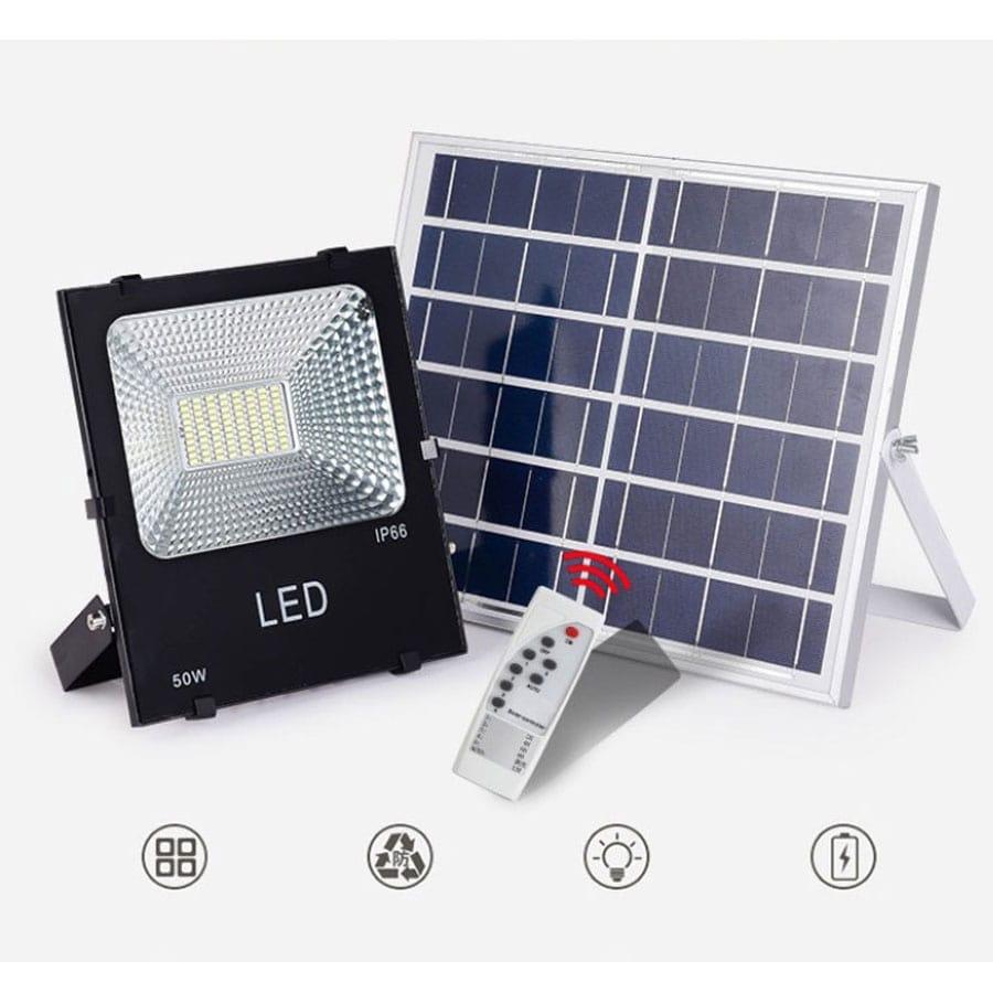 giá đèn năng lượng mặt trời 50W Solar Light