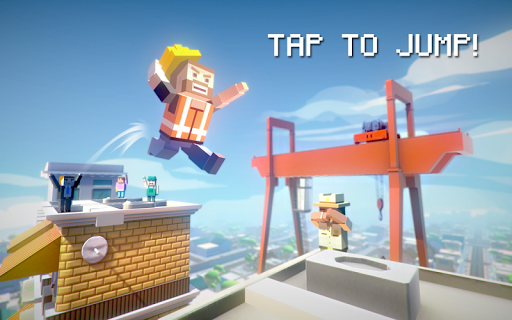 【免費動作App】Jumpy Rooftop-APP點子