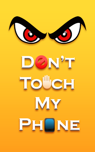 Screenshot for Don't Touch My Phone - Alarm in United States Play Store