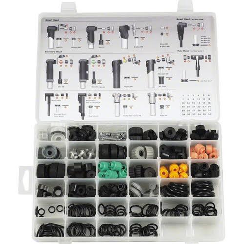 Topeak Pump Rebuild Kit - 34 Bins of Parts for All Topeak Pumps