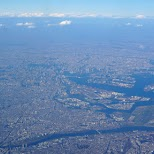 Tokyo from the air, can you see the skytree? in Shanghai, Shanghai, China