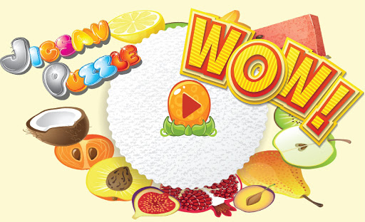 Fruit Jigsaw Puzzles for kids