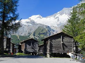 Photo: Traditional Buildings, Saas Fee, Switzerland