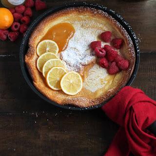Lemon Raspberry Dutch Baby Recipe