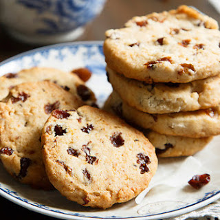 Cookies With Raisins, Coconut And Lemon Zest.