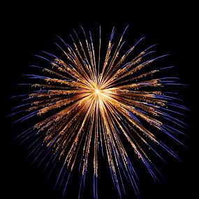 by Anna Heaslett - Abstract Fire & Fireworks