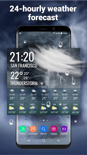 Weather Report Widget for android phone 10.3.5.2353 screenshots 3
