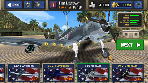 Air Combat Pilot: WW2 Pacific  screenshots 18