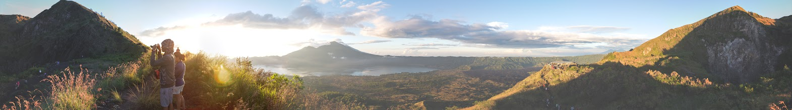 Photo: Batur volcano, Bali  For the full viewing pleasure use http://photo.harald-hoyer.de/bali.html