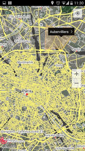 Wikimapia Maps screenshot 3