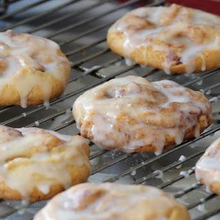 Monster Cinnamon Roll Cookies.